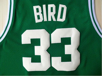 #33 Larry Bird Brand New Jerseys Green Basketball Jersey