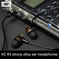 DIY-R3 earphone professional arbud headphones ebony fever professional linear HIFI headphones sound bass and strong sense of Q
