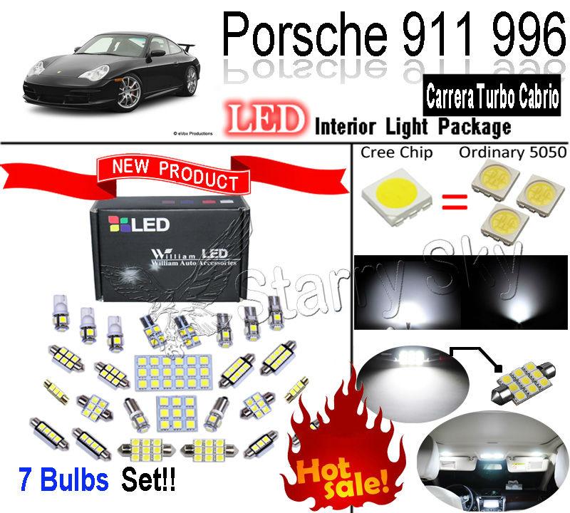 Лампа для чтения William LED 7 SMD 911 996 Carrera Porsche Turbo Cabrio лампа led