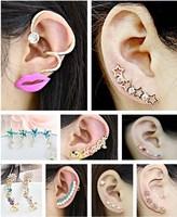 $11.5/2designs, women personality design fashion stud earrings ear cuff
