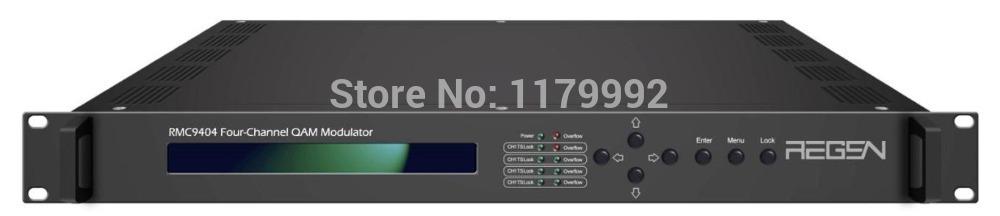Four Channels DVB-S/S2 TO DVB-C QAM modulator Support Standard EN300 429 / ITU-T J.83A/J.83B/J.83C RMC9404(China (Mainland))