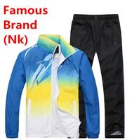 Nk Brand Men Women Lovers Tracksuit Hoodie Set Sportswear Jacket Sports Suit Breathable Sweatshirt Autumn Winter Coat Parkas