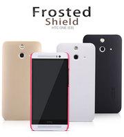 Original Nillkin Case for HTC One E8 4 Colors Thin Super Plastic Matte Case + Screen Protector Film, Free shipping