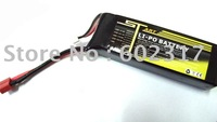 2 pcs RC helicopter Trex  3D flying Battery ST 4S1P 4S 14.8V 2200mah 20C Lipo Battery helikopter