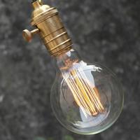1900 Antique Vintage Edison light Bulb 40W 220V/110v Large Squirrel cage Tungsten,G95 E27 edison bulb lamp