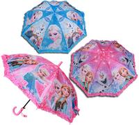Frozen Umbrella Student Long-handle umbrella for children Frozen Princess Elsa  Anna Hanging Umbrella