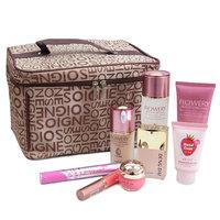 Large cosmetics hot-selling handbag letter pattern large capacity Large cosmetic bag