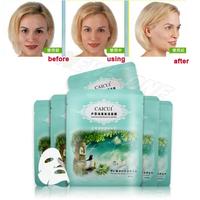 The Best Whitening Mask Aloe vera & seaweed gel Moisturizing facial Mask Oil Control Balance & Pores Shrink 6PCS/LOT