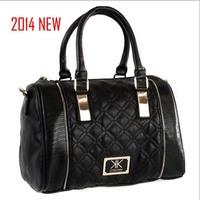 bolsas kill soft women leather handbags 2014 new summer kardashian kollection double quilted bowler kk bag handbag shipping