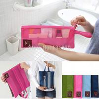 2014 upgrade new version wash tools storage bag makeup storage bag travel bag waterproof multi pouch 4 colors MN008