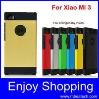 Free shipping Hard cover waterproof original case for xiaomi m3 silicone Gold Korean spigen sgp neo hybrid case for xiaomi mi3