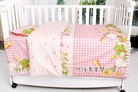 Hot 2014 100% cotton baby bedding kit baby bedding set piece bedding package duvet cover bed sheets