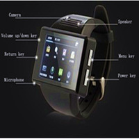 Asianblack -An1-06 New quad-band Andrews - Fashion - smart watch phone - Free Shipping