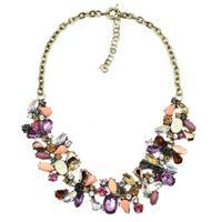 2014 New JC design woment bib collar trendy bubble fashion necklaces & pendants costume choker chunky Necklace statement jewelry