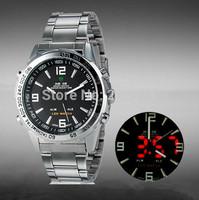 New original Weide watches men luxury brand 30M Waterproof LED Fashion Outdoor Dive Swim Dress Wristwatches Military Watch