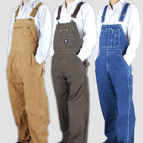Claudia Bronze -font-b-Suspenders-b-font-font-b-Men-s-b-font-Vintage-cargo-jeans-worker