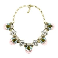 2014 Fashion Necklace choker collar bib resin pendant statement necklace for women Jewelry factory price
