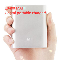 10400 mah Portable USB Power Bank rechargeable battery creative xiaomi portable charger power bank Backup battery