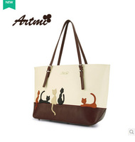 Tmi bags for ar 2014 cat the trend of fashion shoulder bag sweet women's handbag big bag