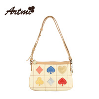Macaron artmi2014 poker sweet cross-body women's handbag shoulder bag