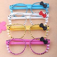 C035 gift stationery cartoon glasses pen student pen promotional pen