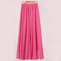 2014 Korean women summer sweet purchasing new promotional stitching wide waist chiffon dress child princess M/L/XL