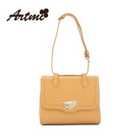 Tmi bags for ar 2014 fashion solid color one shoulder women's handbag small bag all-match animal women's