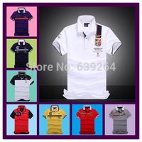 High-quality 2014 brand new polo male aeronautica militare men polo shirt air force one polos calvin LA hollistic 100% cotton