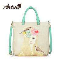For ar tmi2014 color block women's handbag fashion handbag fashion messenger bag