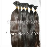 """14""""-40""""inches 100grams/lot  High quality  Virgin Chinese  human hair *Remy Human Hair * bulk  hair*"""