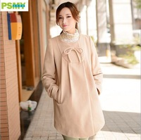 2014 New Brand maternity dress winter coat M1005 Pregnant woman's coat Free shipping
