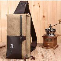 2014 men Canvas waist packs canvas outdoors  leisure wallet running waist packsrucksack diagonal package YYJ53