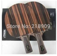 NEW-2PCS-STIGA EBENHOLZ NCT V table tennis racket EBENHOLZ 5 Straight/Horizontal grip pingpong balde