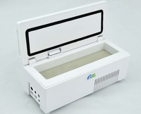 2014 small freezer,small fridge,insulin cooler box built-in battery with LCD screen