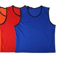 2014 New Sports Football Training Bibs Jersey Brand Designer Soccer Sportswear Accessories Blue Orange Red Yellow