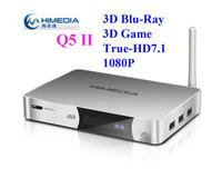 Himedia Q5ii Q5 ii Android4.2 Google Smart Set Top TV Box Dual Core 3D Blue-ray ISO SATA HDD Media Player eMMC Hisilicon Hi3718C