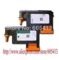 1set/ lot Genuine for hp88 BK/Y & M/C printhead printer head forOfficejet Pro K5300 K5400dn K5400d K8600 hp8600