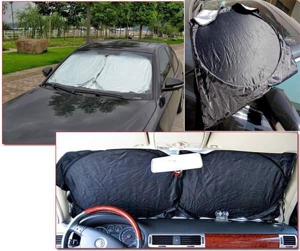 New Front Rear Car Window Sun Shade Car Windshield Visor Cover Block(China (Mainland))