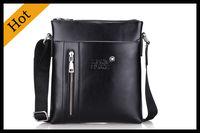 2014 New hot sale PU Leather Men Bag Fashion Men Messenger Bag small Business crossbody shoulder Bags free shipping