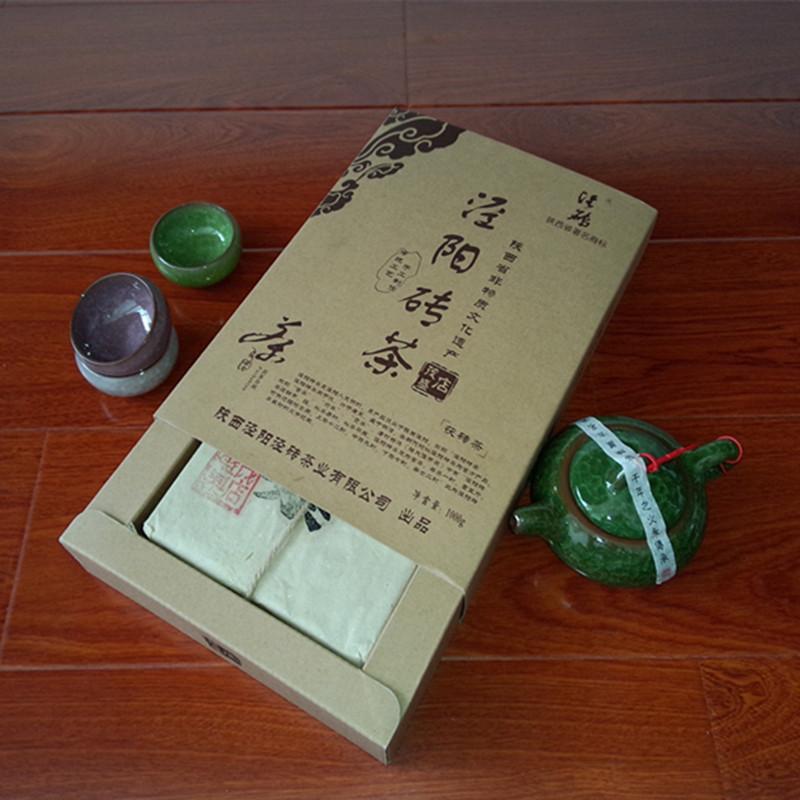 Shopping Festival antifatigue Jinhua Fubrick Golden flower dark tea free shipping polite people choice(China (Mainland))