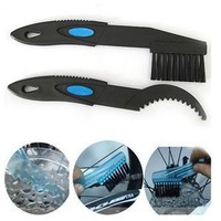 Set 2xpcs Bike Bicycle Chain Clean Brush Cleaning/Outdoor Cleaner Scrubber Tool/Bicycle  Accessories