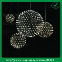 Modern Stainless Steel Lustres Pendant Lightings Rattan Ball LED Pendant Light Brief Home Decor Light Fixture Bar Luminaire