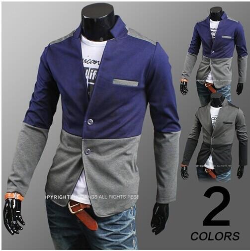 Wholesale-Men Blazer Designs Korean Suit Mens Jackets And Coats ...