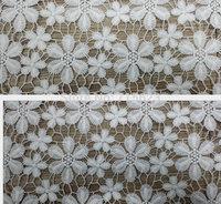 2014 072402 New design  white  Venice lace embroidery lace fabrics