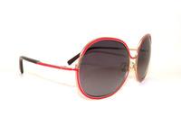 Free shipping fashion metal sunglasses male Women the trend vintage toad black oversized sunglasses women glasses New Design