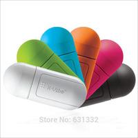 Free Shipping Pills X-vibe mini capsule vibration speaker, computer phone resonance sound