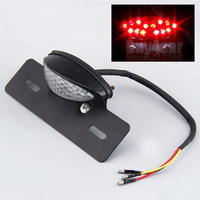 14 LED Red Rear Tail Stop Light Brake Running Driving Lamp For Motorcycle Bike ATV Scooter #3838