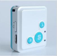 Super mini GPS Trackers & SOS communicator For Kids Remote Tracking via internet website/SMS/Andorid APPs RG-16