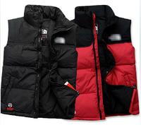 NFace Brand Men Women Duck Down Thick Warm Autumn Winter Vest Sports Hoodies Breathable Waistcoat Jumpsuit Sportswear Coat