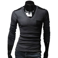 New arrival Men fashion slim long Sleeve t Shirt/free shipping Hot sale high quality Asia S-XXL